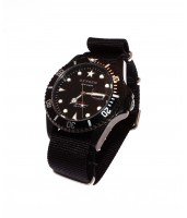 Diver Moby Dick Black 40 BLK/BLK-Caki/Red