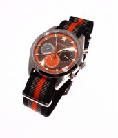 Sport Dual Time Tanger 40 Black/Grey/Orange