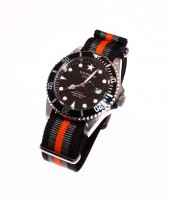 Diver Amsterdam 40 Black/Grey/Orange